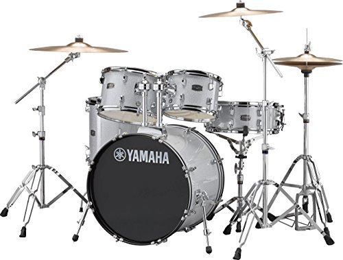 Yamaha RDP0F5SLGCPSET Rydeen 20″ Drum Kit with Hardware - Silver Glitter