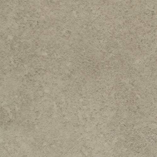 PVC-Boden Fliesenoptik Sand Uni | Vinylboden 4m Breite & 1,5m Länge | Fußbodenheizung geeignet | PVC Platten strapazierfähig & pflegeleicht | robuster, rutschhemmender Fußboden-Belag | phthalatfrei