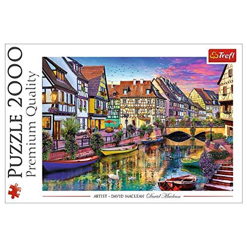 Trefl 27118 Colmar, Frankreich 2000 Teile, Premium Quality, für Erwachsene und Kinder ab 12 Jahren Puzzle, Mehrfarbig