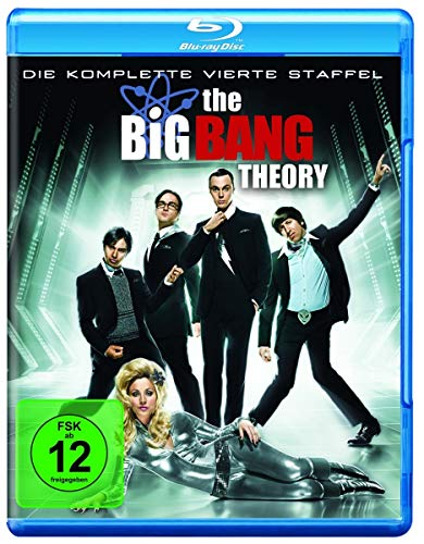 Cover The Big Bang Theory - Die komplette vierte Staffel [Blu-ray]