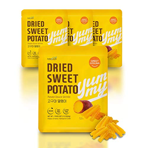 100% Natural Sweet Potato Snacks from South Korea...