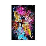 SDFGSD Musikposter Queen Freddie Mercury,