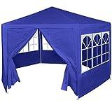 vidaXL Festzelt 6 Seitenwänden 2x2 m Bierzelt Partyzelt Gartenzelt Pavillon