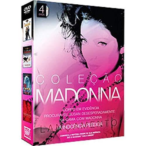 COLEÇÃO MADONNA - 4 DVDS