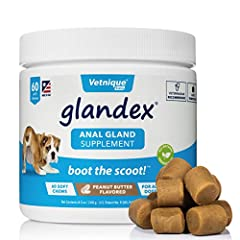 SUPPORTS HEALTHY ANAL GLANDS: Glandex is scientifically formulated to support healthy anal glands. With key ingredients including pumpkin seed, Glandex promotes natural emptying of the anal glands & supports digestive health & seasonal allergies. GUA...