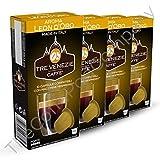 200 cápsulas y vainas compatibles con Nespresso, mezcla Tre Venezie Leon D'Oro. 20 x 10 por caja.