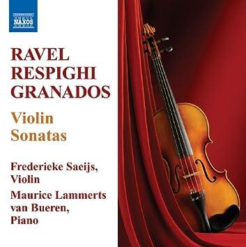 Ravel, M. / Respighi, O. / Grandos, E.: Violin Sonatas