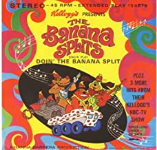 Doin' The Banana Split/I Enjoy Being A Boy (In Love With You) b/w My Beautiful Caliopasaxaviatrumparimbaclarabasatrombaphone/Let Me Remember You Smiling (4 track EP vinyl 45)