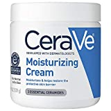 CeraVe Moisturizing Cream | 19 Ounce | Daily Face and Body Moisturizer for Dry Skin | Packaging May Vary