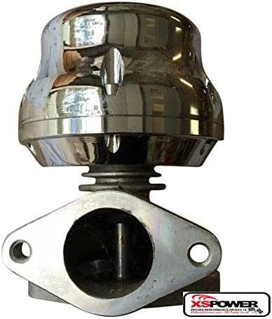 XS-Power Super beauty product restock quality top SILVER 38MM EXTERNAL TURBO BYPASS Max 55% OFF EXHAUST+ WG WASTEGATE