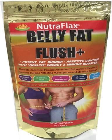 NUTRAFLAX BELLY FAT FLUSH + HERBS