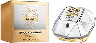 Lady Million Lucky by Paco Rabanne Eau de Parfum Spray 1.7 Ounce