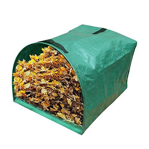 Delleu 53 Gallonen große Yard-Kehrschaufel-Art Garten-Tasche für das Sammeln der Blätter -Wiederverwendbare Hochleistungsgarten-Taschen,Rasen-Pool-Garten-Blatt-Abfallbeutel