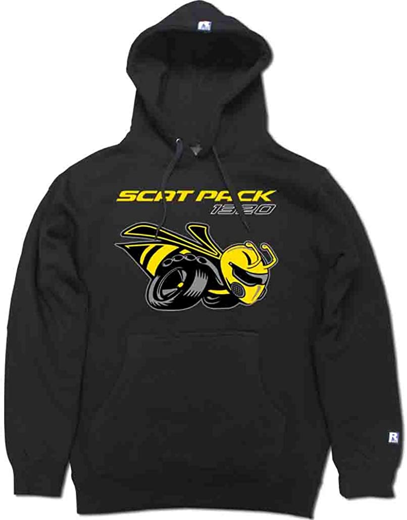 FTD Apparel R Built Men's Scat Pack 1320 Bee Pullover Hooded Sweater