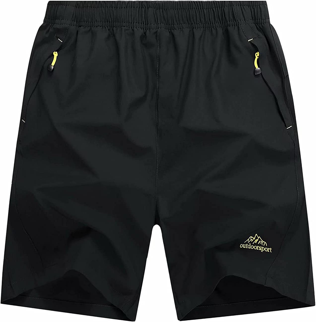 Colorado Springs Mall MAGCOMSEN Men's Shorts Quick Dry Athletic with Zi Cheap SALE Start Running