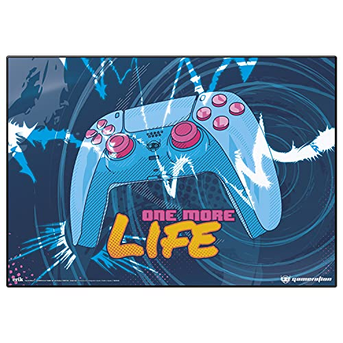 Vade Gamer One More Life -Tapete escritorio │ Vade escolar multifuncional - Protector escritorio