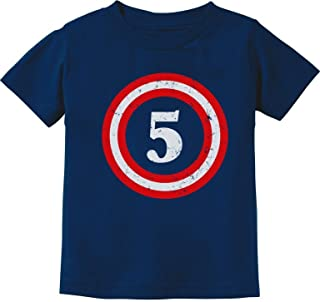 Captain 5th Birthday Gift for Five Years Old Toddler...