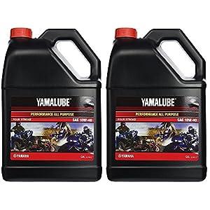 Yamalube All Purpose 4 Four Stroke Oil 10w-40 1 Gallon (2 Gallons)