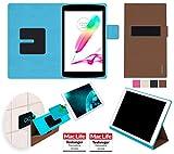 Hülle für LG G Pad II 8.0 Tasche Cover Hülle Bumper | in Braun | Testsieger