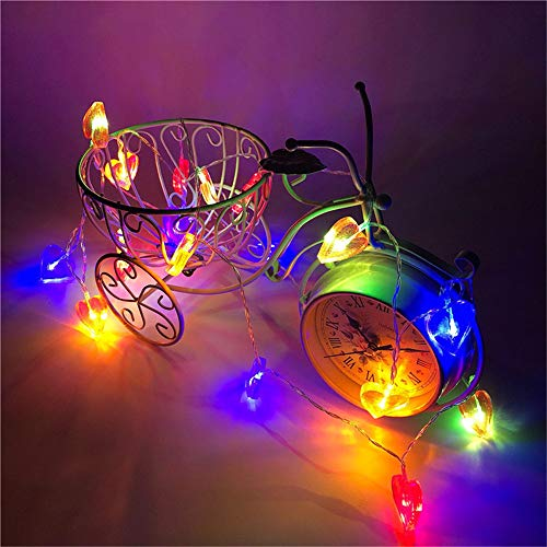 Valentinstag Hallendekoration Led Fairy Red Love Batterie Usb String Licht Dekoration Girlande Weihnachten Neujahr Urlaub Party Dekoration