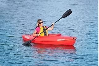 Sun Dolphin RED Aruba 8' SS Sit-in Lightweight Kayak w/ Storage