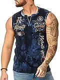 "OneRedox Herren T Shirt Hoodie Longsleeve Ärmellos Shirt Sweatshirt ""Monte Carlo"" 4359 Navy XL"