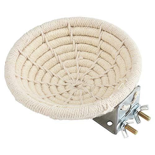 FurPaw Nido de Pájaro - Nidos para Pajaros de Cuerda de Algodón para un Gorriones Canarios Loros