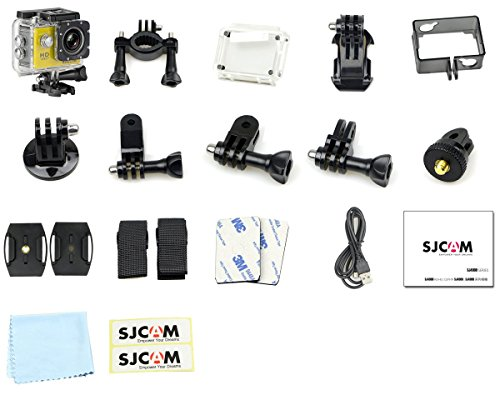MeGooDo SJCAM Original SJ4000 WiFi Action Camera 12MP 1080P H.264 1.5 Inch 170° Wide Angle Lens Waterproof Diving HD Camcorder Car DVR (Black)