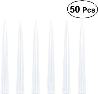 UKCOCO Punta de pipeta líquida de 10 ml, accesorios de punta de boquilla lisa de