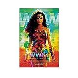 NCCDY Wonder WomanS 1984 Leinwand-Kunst-Poster und