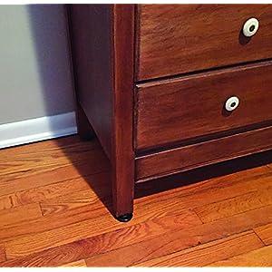 Shepherd Hardware 9091 2-Inch Carpet Base Furniture Cups, 4-Pack