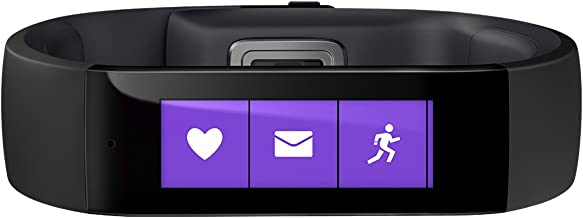 Microsoft Band, Medium (4M5-00002) (Discontinued by Manufacturer)