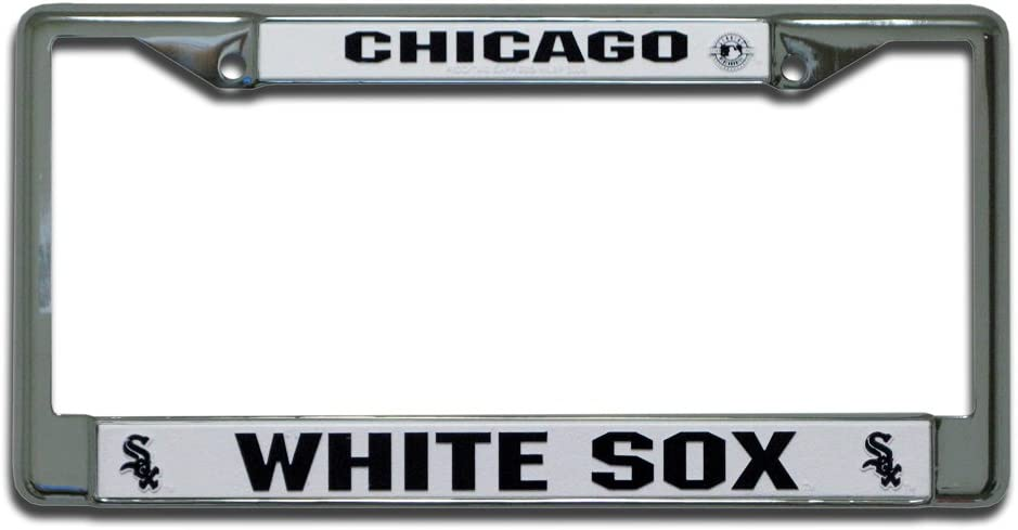 Rico Industries New Year-end annual account life MLB Chrome Plate Frame License