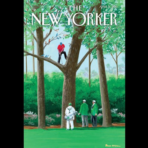 The New Yorker, April 11th 2011 (Tad Friend, Laura Miller, James Surowiecki) cover art