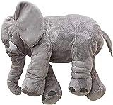 GRIFIL ZERO XXL Stuffed Elephant Plush Toy Grey 60cm 24 inch Large Stuffed Animal