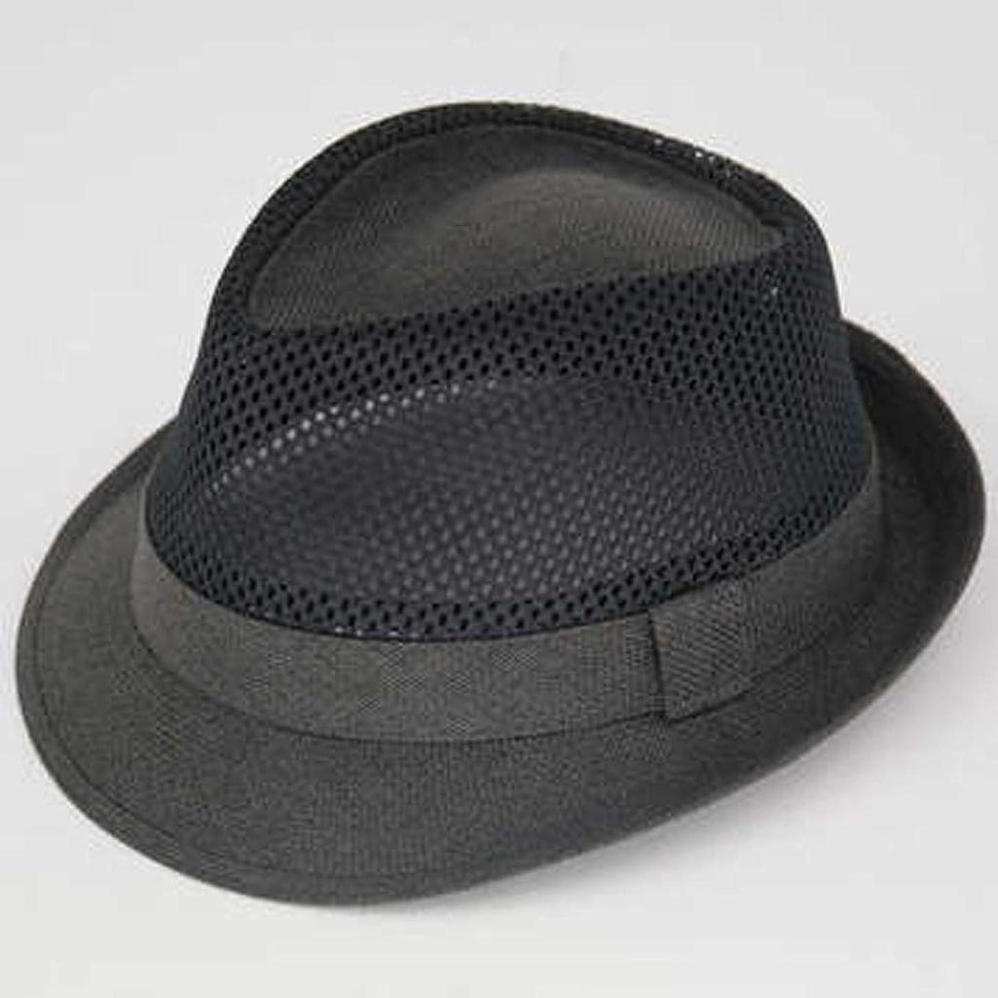 登る仕事に行く追跡ZFDM 英国シルクハットクールハット通気性麦わら帽子サンバイザー通気性ライトトラベル (Color : 2)
