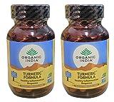 (2 PACK) - Organic India - Turmeric Formula   60's   2 PACK BUNDLE …