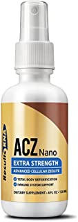 Results RNA ACZ Nano Advanced Cellular Zeolite Extra Strength | Great for Total Body Detoxification and Immune System Health - 2oz Bottle