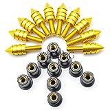 RONGLINGXING Pieces de Sport Motorise 5mm for moto pare-brise de Spike boulons écrous à vis for Kawasaki ER...