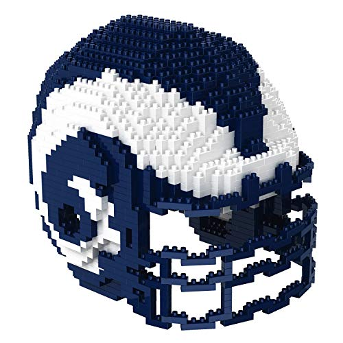 Los Angeles Rams NFL Football Team 3D BRXLZ Helm Helmet Puzzle …