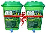 Greenrich Organic Composter 25 ltrs + 1 Bag Microbes (5 ltrs) - Convert