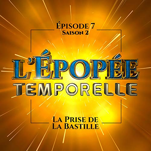 La prise de la Bastille audiobook cover art