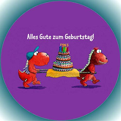 Fondant Tortenaufleger Tortenbild Geburtstag Der kleine Drache Kokosnuss T8
