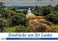 Eindruecke von Sri Lanka 2022 (Tischkalender 2022 DIN A5 quer): Dieser Kalender zeigt verschiedene Eindruecke des Landes Sri Lanka (Monatskalender, 14 Seiten )