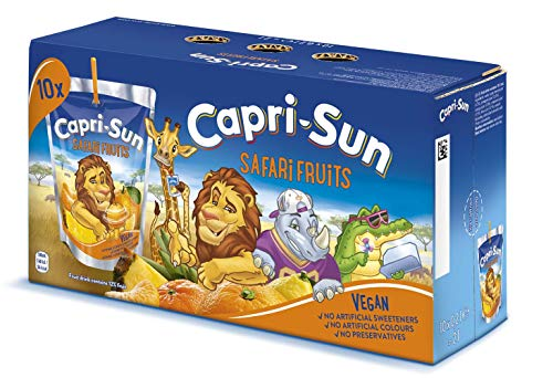 Capri-Sun Safari Fruits, 4er Pack (10 x 200 ml)