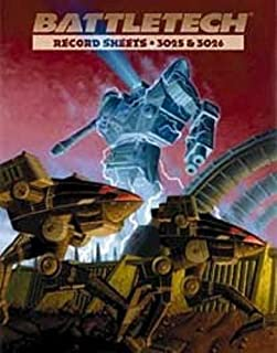 Battletech: Record Sheets 3025 and 3026 (1996-12-04)