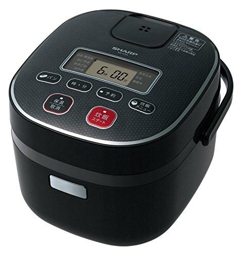 シャープ 炊飯器0.54Lタイプ ブラック系 KS-C5H-B