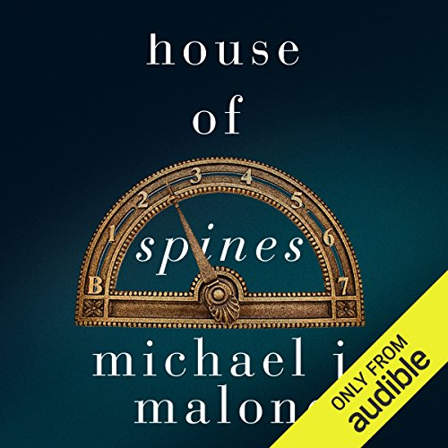 House of Spines audiobook cover art