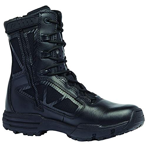Tactical Research Belleville 918z Chrome Side Zip Hot Weather Black Boot 12