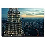 Njuxcnhg Kein Rahmen Kuala Lumpur Petronas Twin Towers